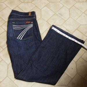 7 For All Man Kind Jean's DOJO Size 30